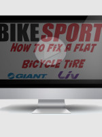 How to fix a flat tire - Video by BikeSport