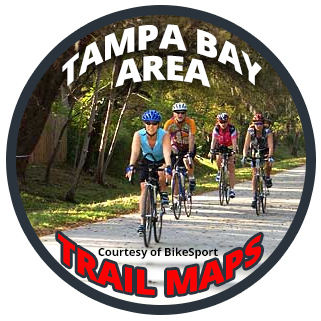 Tampa Bay Area Trail Maps - Courtesy of BikeSport