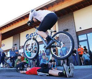 Grand Opening Bike Sport Jeff Lenosky